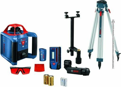 BOSCH REVOLVE900 Cordless Rotary Laser Kit with Tripod