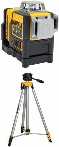 DEWALT DW089LG  with DW0881T Laser Tripod
