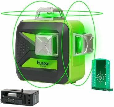 Huepar 603CG-BT 3D Green Laser Level