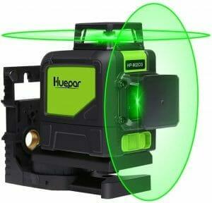Huepar 902CG self leveling 360 degree cross line laser level