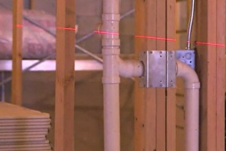 How to Use a Plumb Laser