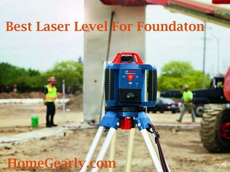 best laser level for foundation