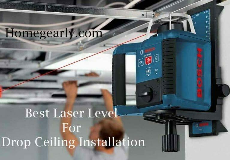 best laser level for drop ceiling installation