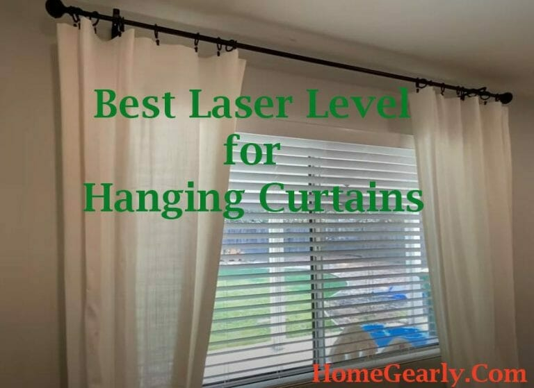 Best Laser Level for Hanging Curtains