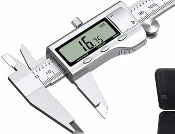 how to measure wire gauge with caliper