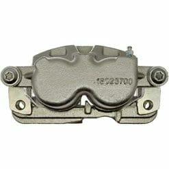 loaded coated brake caliper